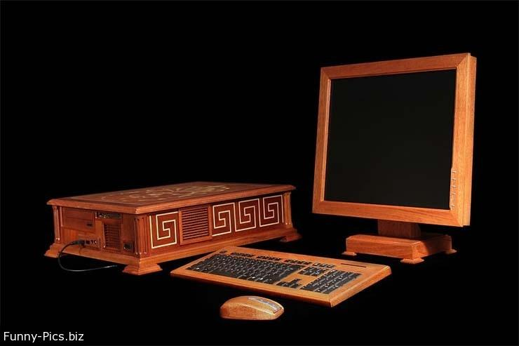 Wooden Zen PC