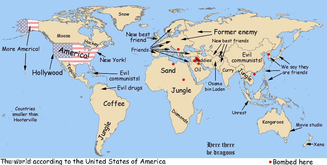 World Map Unleashed